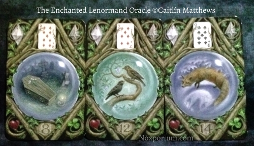 The Enchanted Lenormand Oracle: Coffin-8, Birds-12, & Fox-14