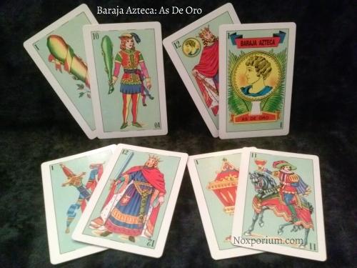 Baraja Azteca: Ones & Courts.