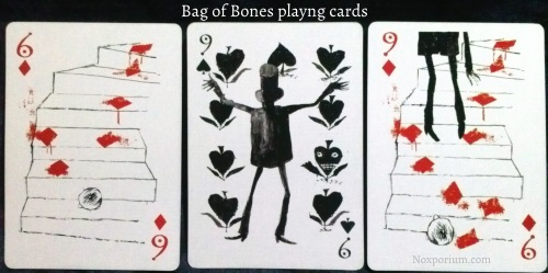 Bag of Bones: 6 of Diamonds, 9 of Spades, & 9 of Diamonds.