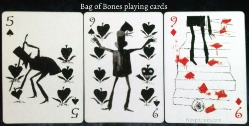Bag of Bones: 5 of Spades, 9 of Spades, & 9 of Diamonds.