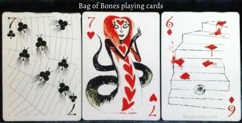 Bag of Bones: 7 of Clubs, 7 of Hearts, & 6 of Diamonds.