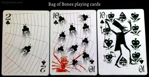 Bag of Bones: 2 of Clubs, 10 of Clubs, & 10 of Spades.