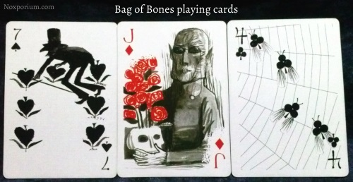 Bag of Bones: 7 of Spades, Jack of Diamonds, & 4 of Clubs.