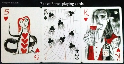 Bag of Bones: 5 of Hearts, 8 of Clubs, & King of Hearts.