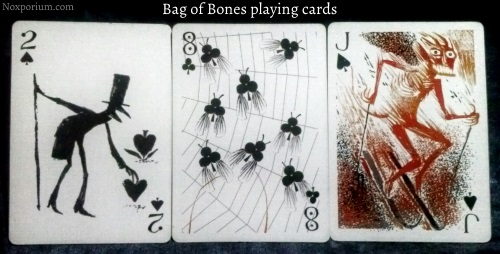 Bag of Bones: 2 of Spades, 8 of Clubs, & Jack of Spades.