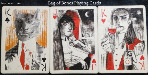 Bag of Bones: King of Clubs, Jack of Hearts, & King of Hearts.