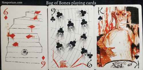 Bag of Bones: 6 of Diamonds, 9 of Clubs, & King of Spades.