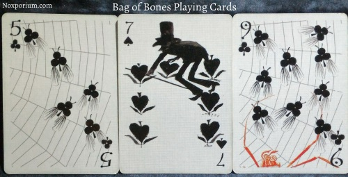 Bag of Bones: 5 of Clubs, 7 of Spades, & 9 of Clubs.
