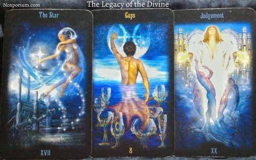 The Legacy of the Divine: The Star, 8 of Cups, & Judgement.