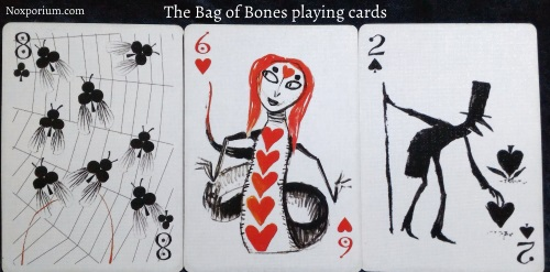 The Bag of Bones: 8 of Clubs, 6 of Hearts, & 2 of Spades.