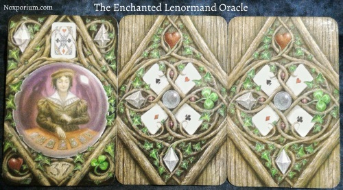 The Enchanted Lenormand Oracle: Diviner + Unknown + Unknown.