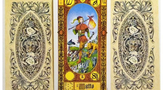 Stairs of Gold Tarot: The Fool [0].